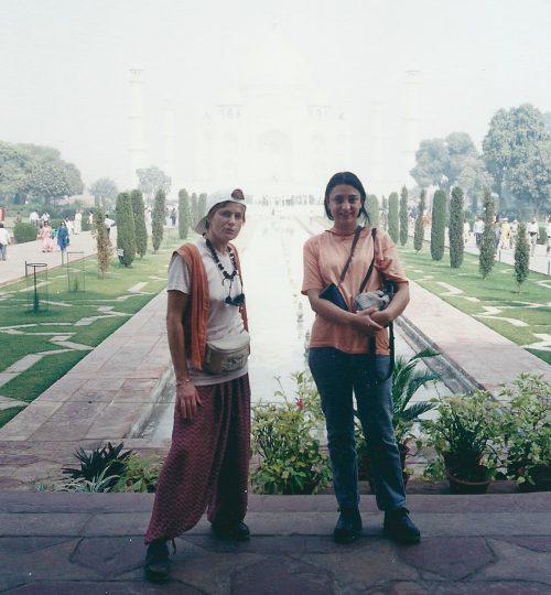 Taz Mahal gardens