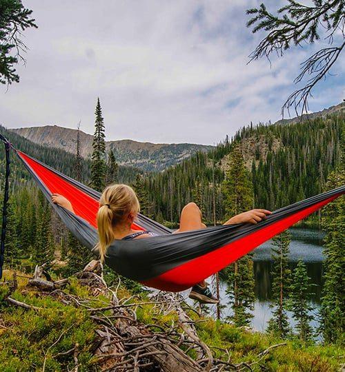 relax near a river